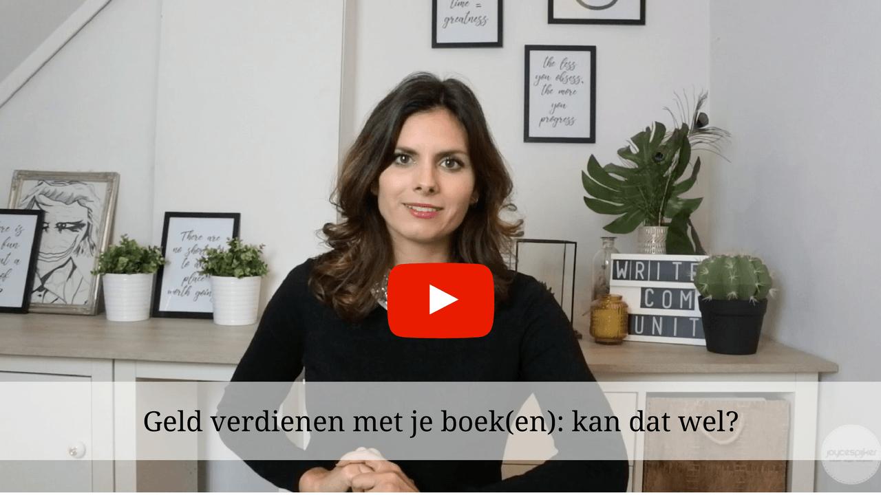 geld verdienen met je boek