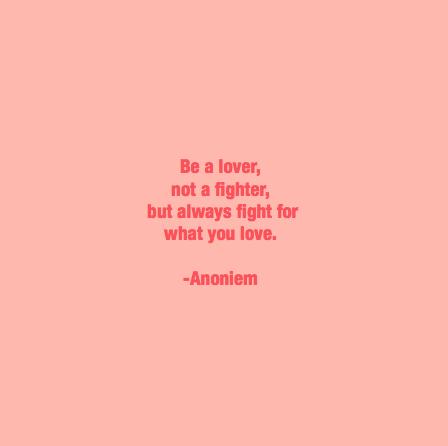 ruimte voor liefde